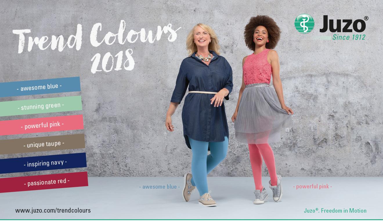 Juzo Trend Colours